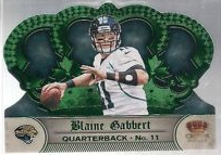 2012 Crown Royale Green #33 Blaine Gabbert