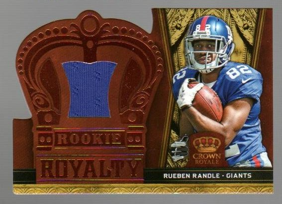 2012 Crown Royale Rookie Royalty Materials Bronze Retail #2 Alshon Jeffery