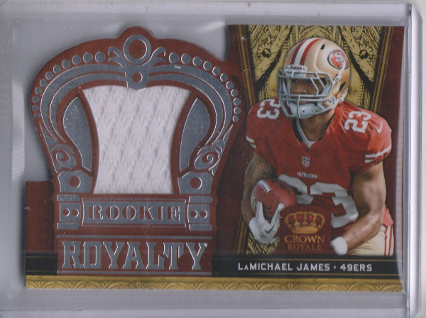 2012 Crown Royale Rookie Paydirt Materials #20 LaMichael James
