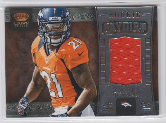 2012 Crown Royale Rookie Paydirt Materials #28 Ronnie Hillman