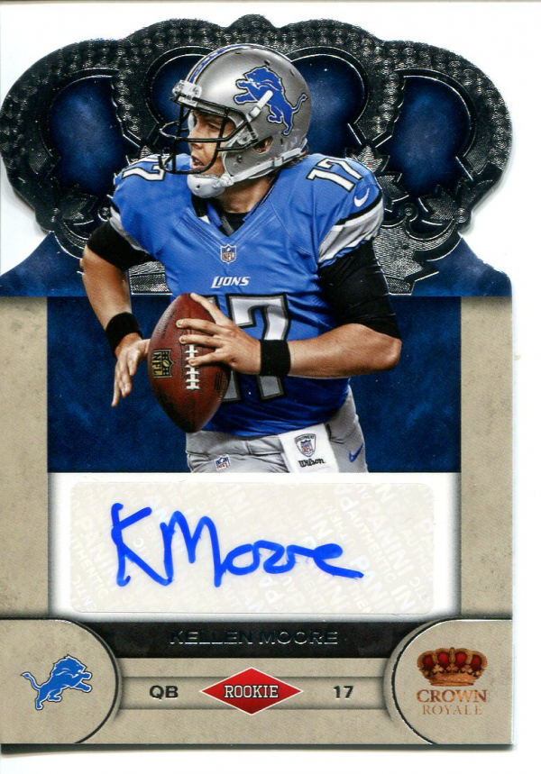 2012 Crown Royale Rookie Signatures #51 Kellen Moore/245