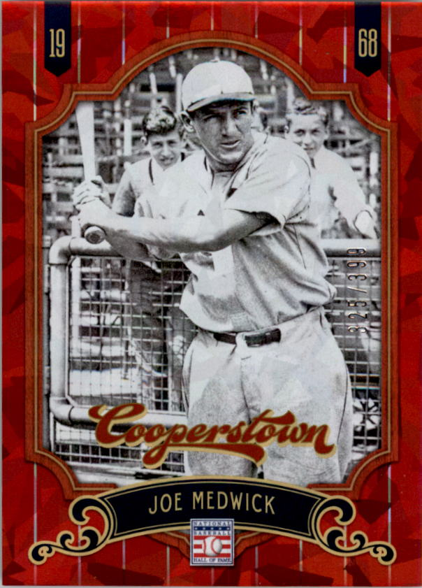 2012 Panini Cooperstown Crystal Collection Red #88 Joe Medwick