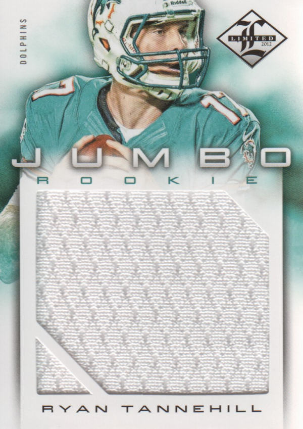 2012 Limited Rookie Jumbo Jerseys #4 Ryan Tannehill