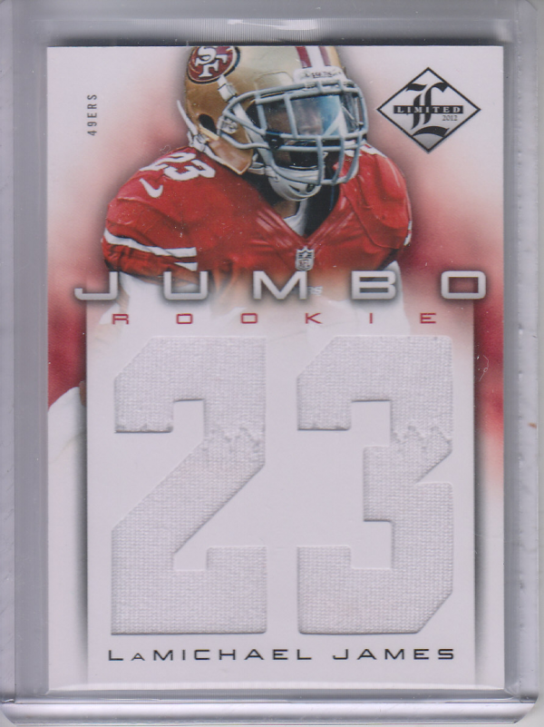 2012 Limited Rookie Jumbo Jerseys Jersey Number #19 LaMichael James/99