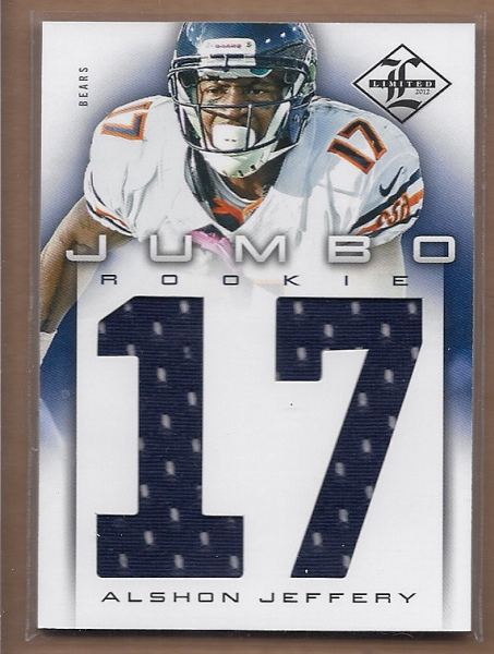 2012 Limited Rookie Jumbo Jerseys Jersey Number #35 Alshon Jeffery/99