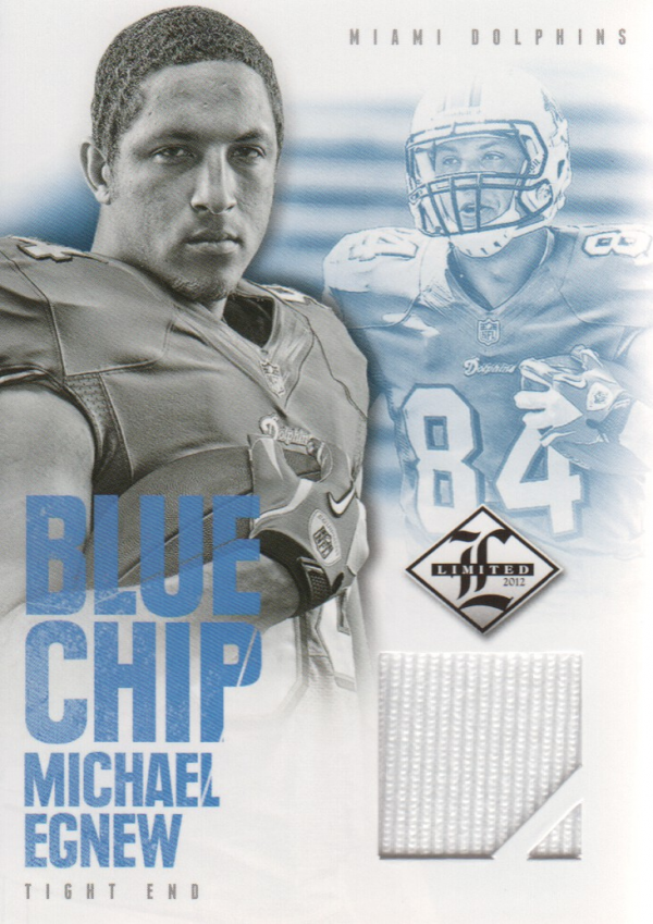 2012 Limited Blue Chip Jerseys #26 Michael Egnew/99