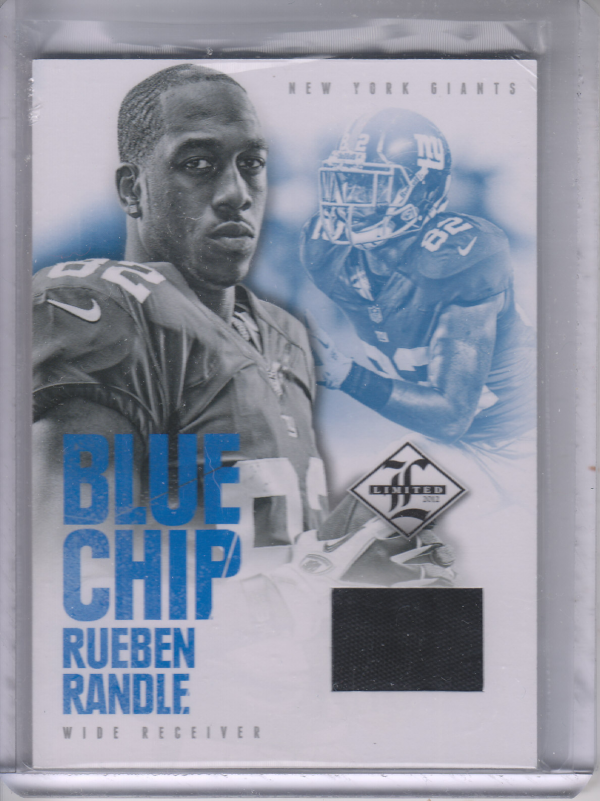 2012 Limited Blue Chip Shoes #20 Rueben Randle
