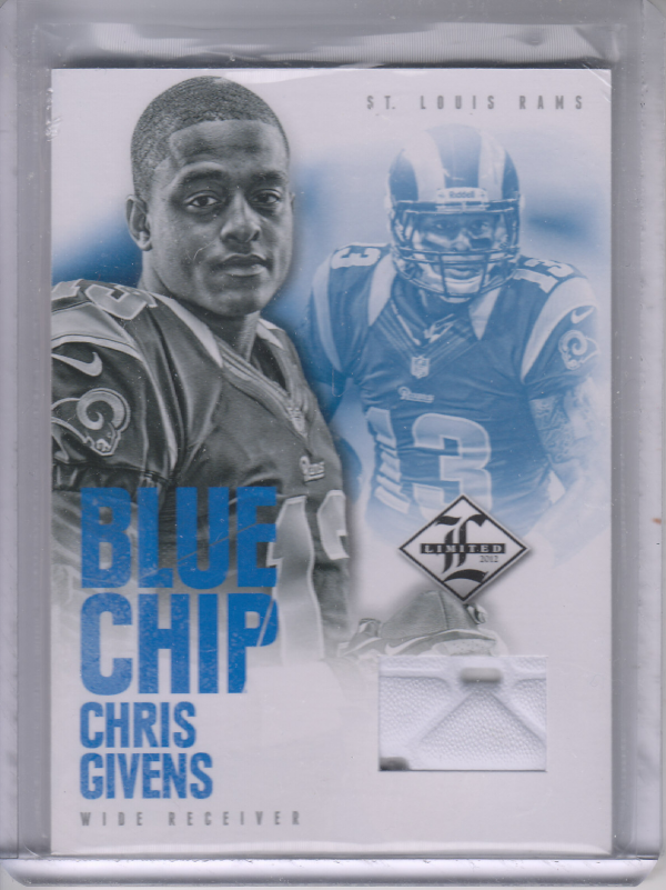 2012 Limited Blue Chip Shoes #27 Chris Givens