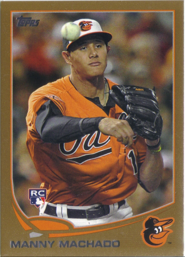 2013 Topps Gold #270 Manny Machado