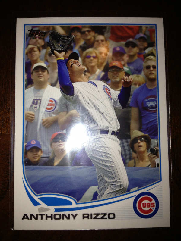 2013 Topps #44B Anthony Rizzo SP