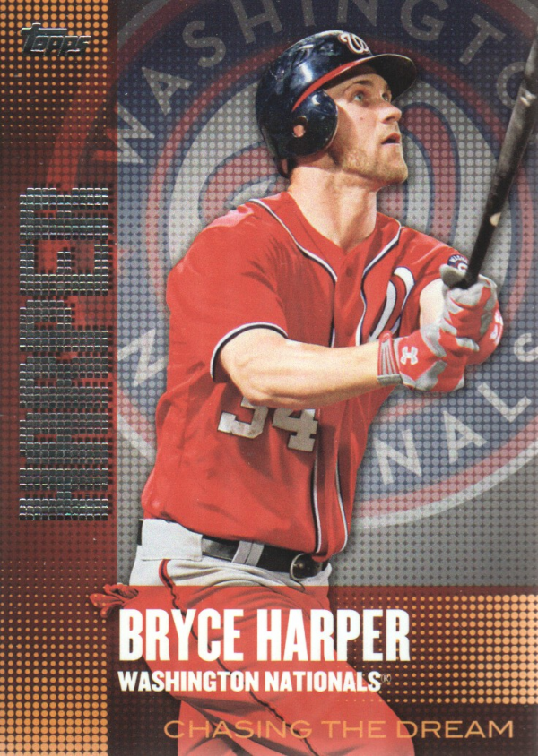2013 Topps Chasing the Dream #CD1 Bryce Harper