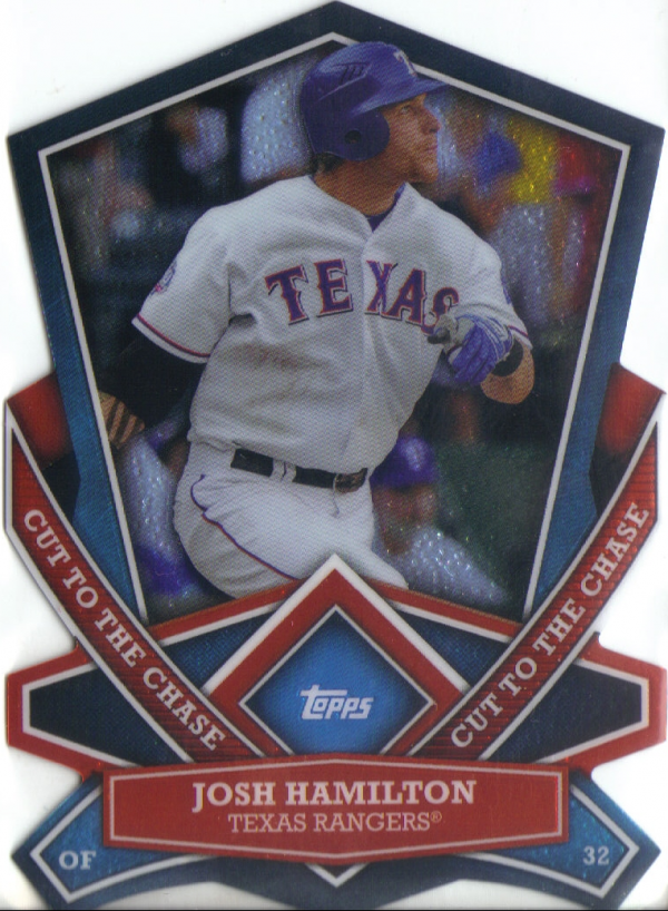 2013 Topps Cut To The Chase #CTC25 Josh Hamilton
