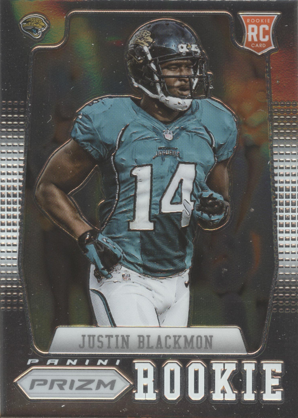 2012 Panini Prizm #217B Justin Blackmon SP