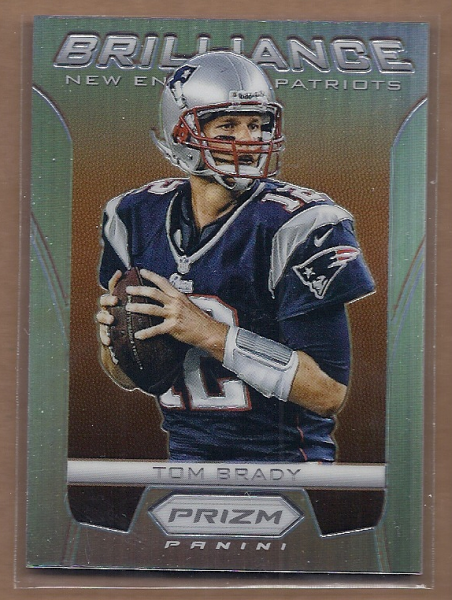 2012 Panini Prizm Brilliance Prizms #5 Tom Brady