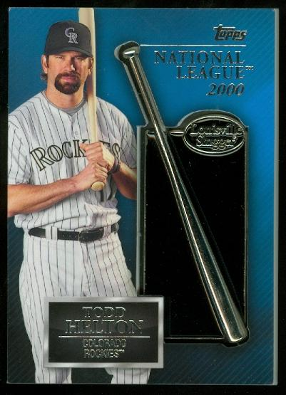 2013 Topps Silver Slugger Award Winners Trophy #TH Todd Helton