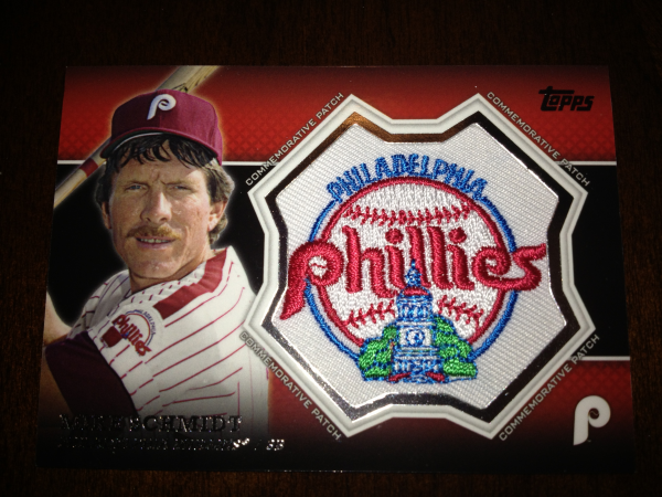2013 Topps Manufactured Commemorative Patch #CP23 Mike Schmidt