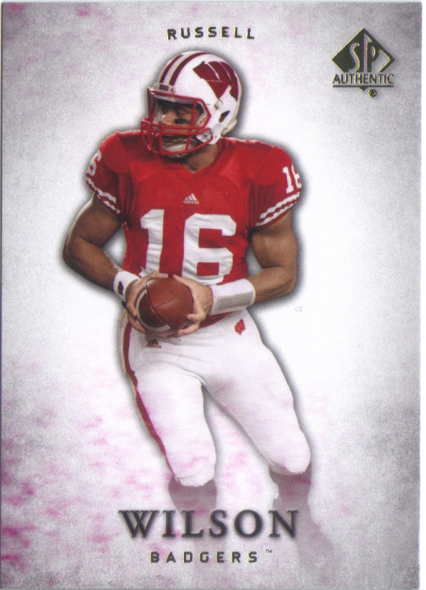 2012 SP Authentic #87 Russell Wilson