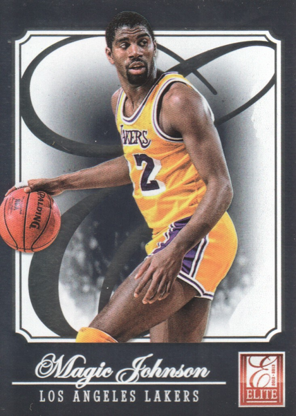 2012-13 Elite #179 Magic Johnson