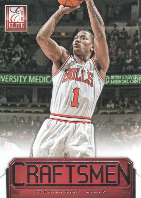2012-13 Elite Craftsmen #12 Derrick Rose