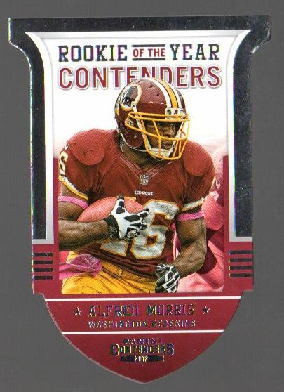 2012 Panini Contenders ROY Contenders #12 Alfred Morris