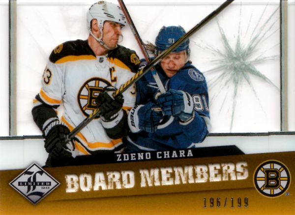 2012-13 Limited Board Members #8 Zdeno Chara