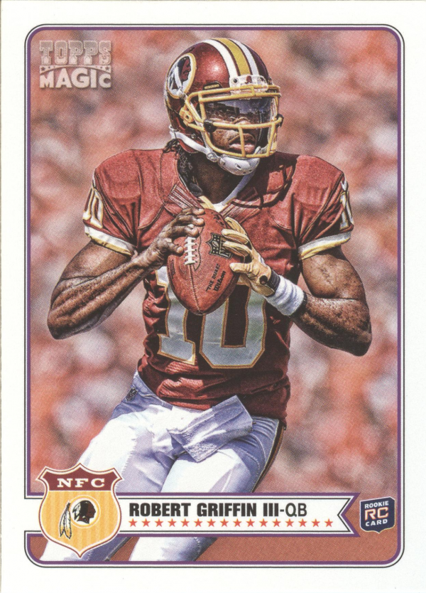 2012 Topps Magic Mini #100 Robert Griffin III