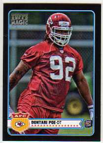 2012 Topps Magic Mini Black Border #211 Dontari Poe