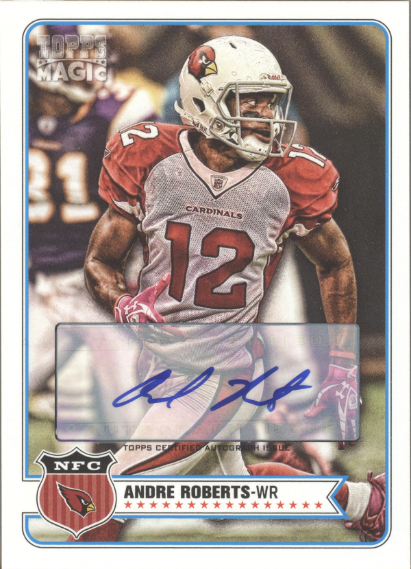 2012 Topps Magic Autographs #199 Andre Roberts