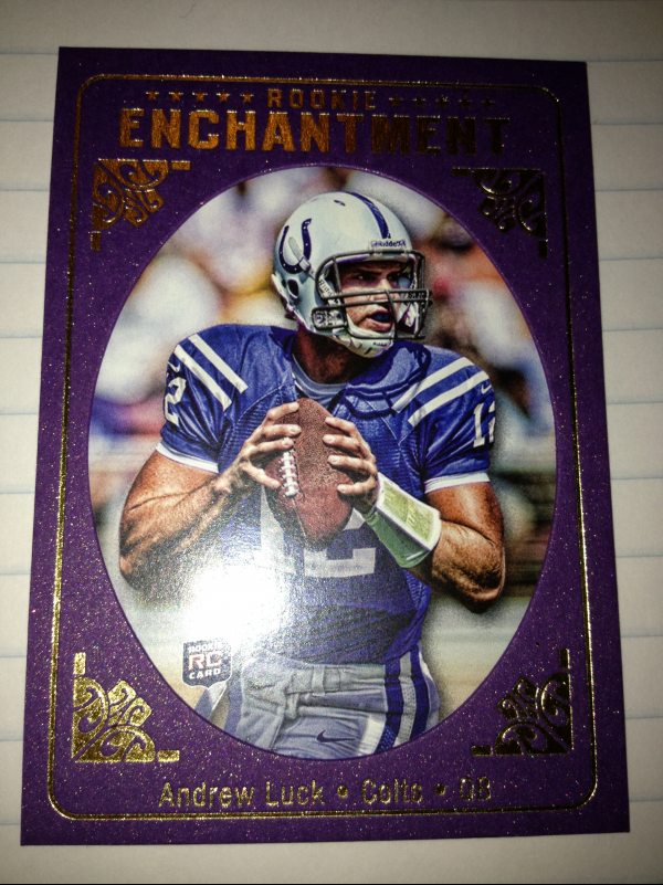 2012 Topps Magic Rookie Enchantment #REAL Andrew Luck