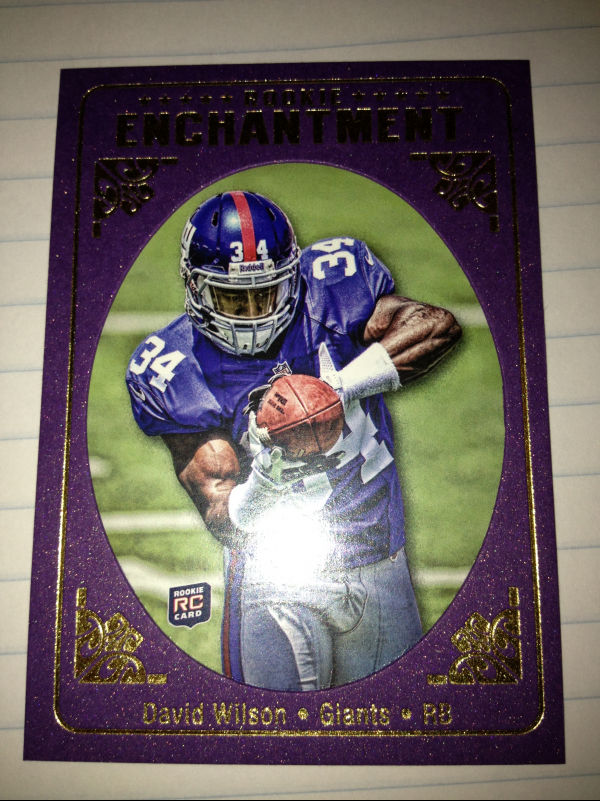 2012 Topps Magic Rookie Enchantment #REDW David Wilson