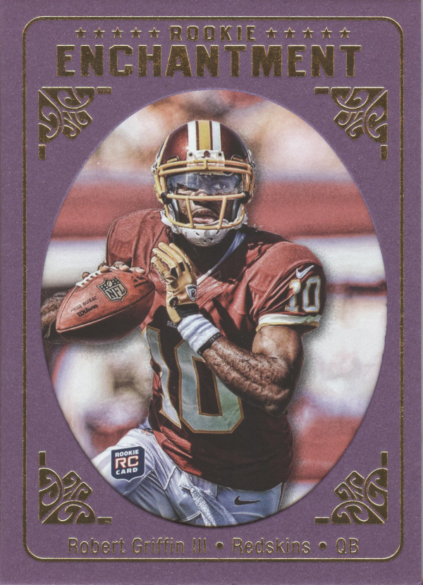 2012 Topps Magic Rookie Enchantment #RERG Robert Griffin III