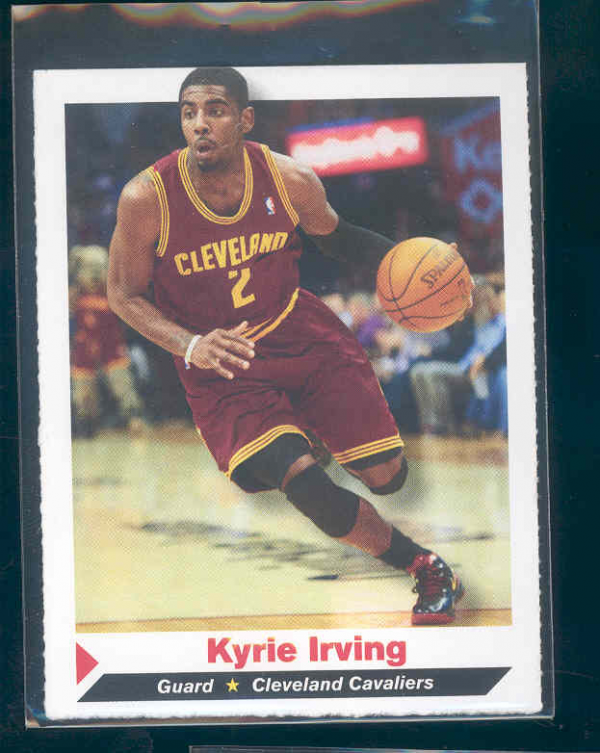 2012 Sports Illustrated for Kids #163 Kyrie Irving BK