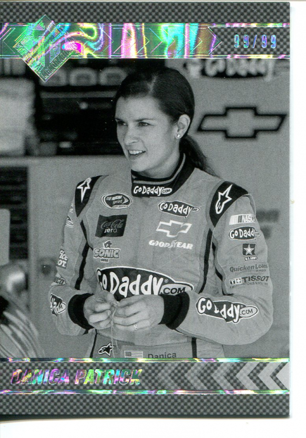 2013 Total Memorabilia Black and White #33 Danica Patrick