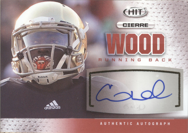 2013 SAGE HIT Autographs #A20 Cierre Wood