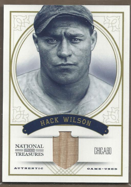 2012 Panini National Treasures #48 Hack Wilson/49