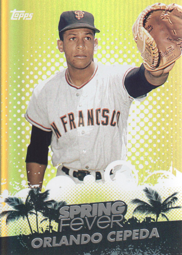 2013 Topps Spring Fever #SF5 Orlando Cepeda