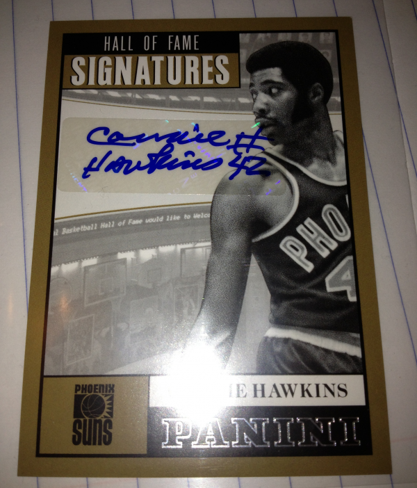 2012-13 Panini Hall of Fame Signatures #6 Connie Hawkins/99