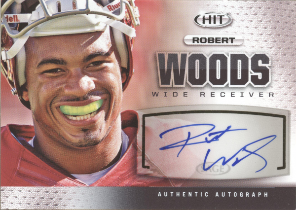 2013 SAGE HIT Autographs #A132 Robert Woods