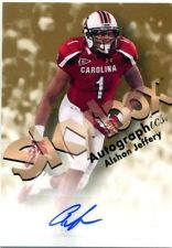 2012 Fleer Retro Autographics 1998 #98AJ Alshon Jeffery