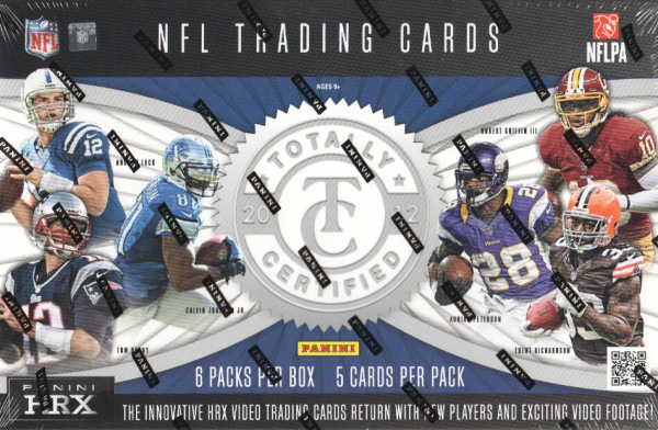 2012 Totally Certified Football Hobby Box