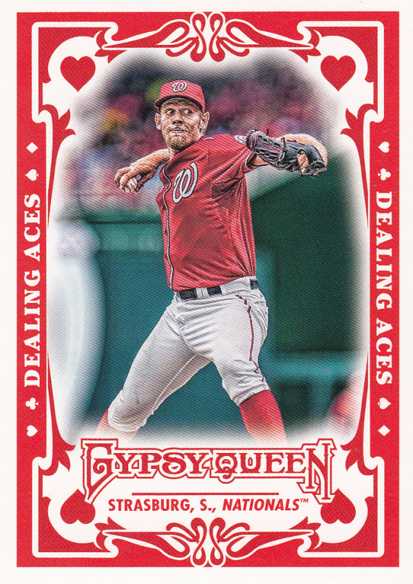 2013 Topps Gypsy Queen Dealing Aces #SS Stephen Strasburg