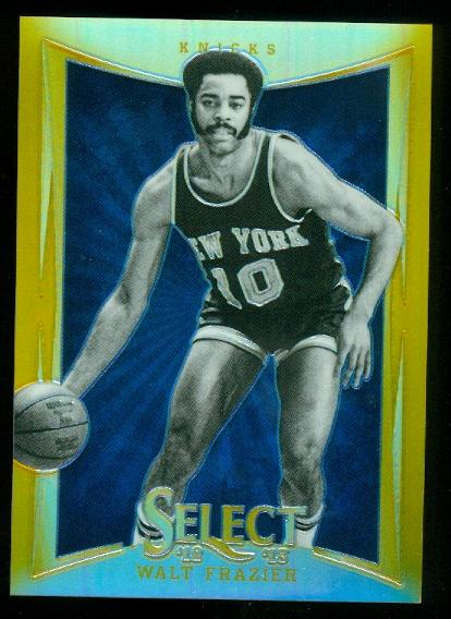 2012-13 Select Prizms Gold #130 Walt Frazier