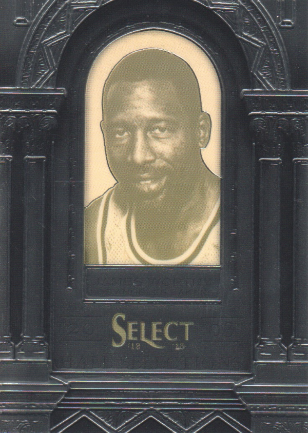 2012-13 Select Hall Selections #20 James Worthy