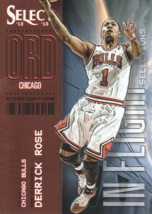 2012-13 Select In-Flight Selections #5 Derrick Rose