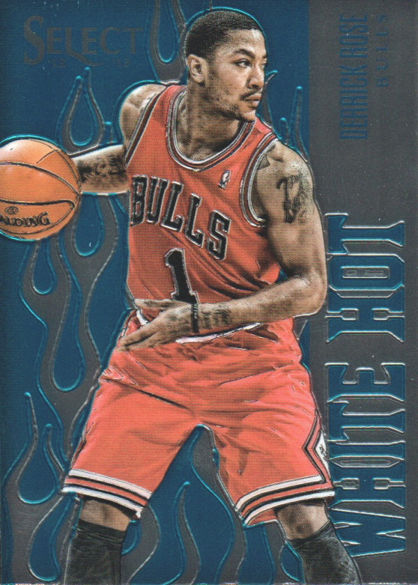 2012-13 Select White Hot Stars #20 Derrick Rose