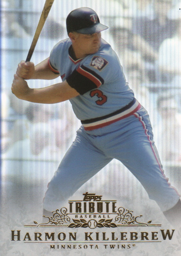 2013 Topps Tribute #87 Harmon Killebrew