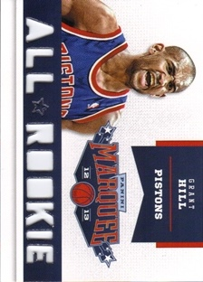 2012-13 Panini Marquee All-Rookie Team Laser Cut #8 Grant Hill