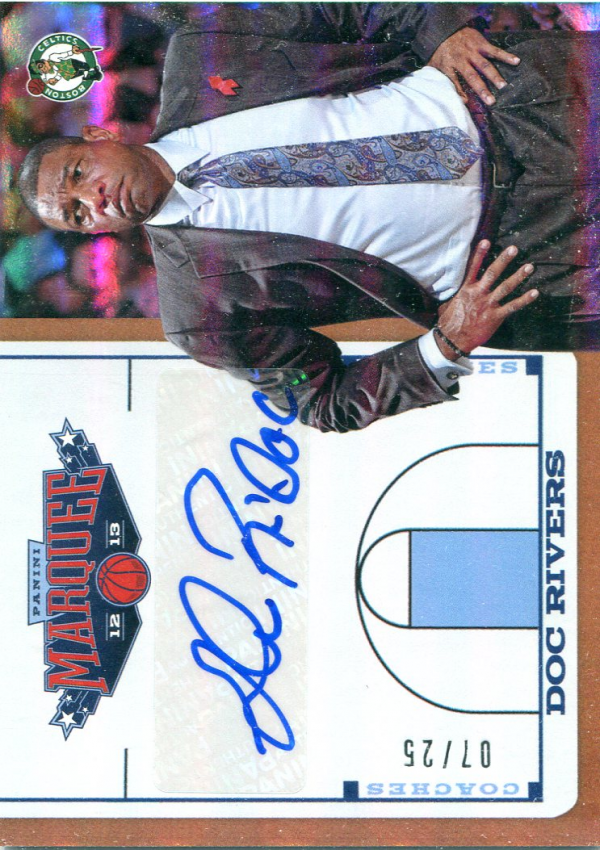 2012-13 Panini Marquee Coach's Autographs #6 Doc Rivers/25