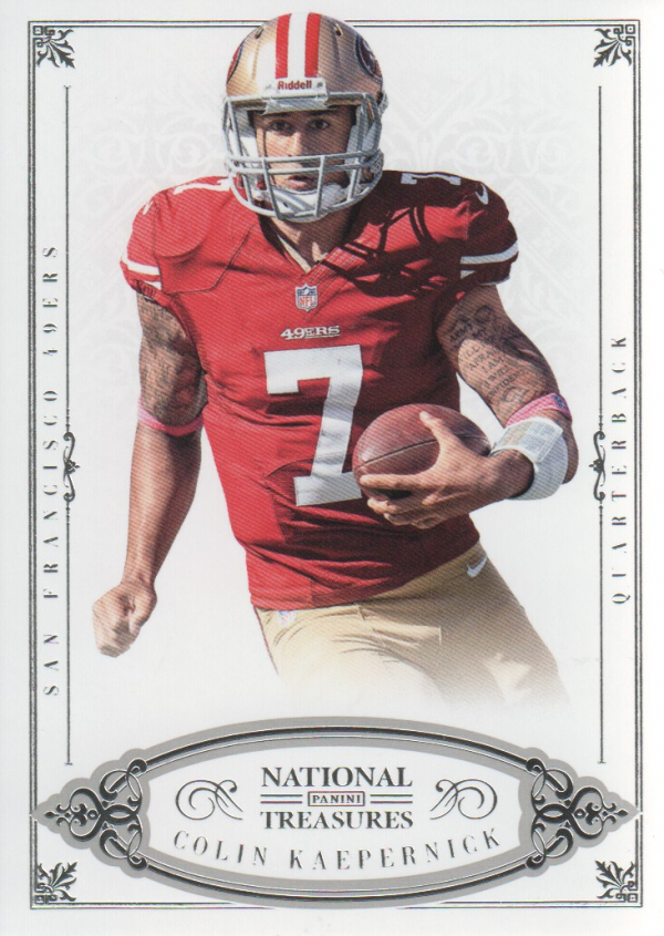 2012 Panini National Treasures #4 Colin Kaepernick