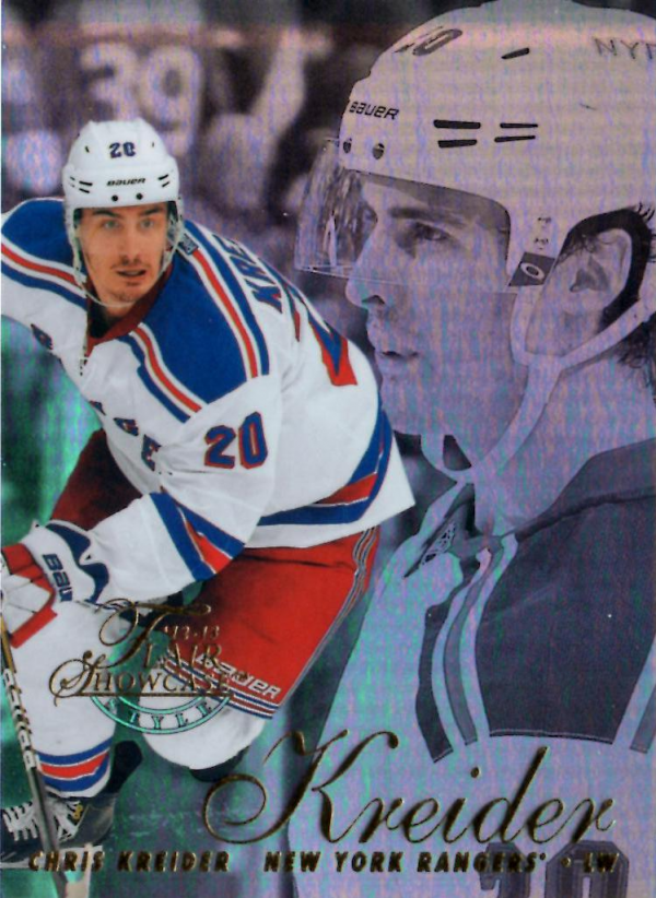 2012-13 Fleer Retro Flair Showcase Row 2 #32 Chris Kreider